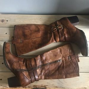 Born Tall Leather Boots